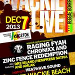 Wickie Wackie Live tonight with @IAmChronixx, @Ragingfyah , @Dreisland1 and a host of other artistes #LiveMusic http://t.co/8H8oaHAwy0