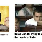 RT @IndiaFinger: Rahul Gandhi trying to understand results of #Polls2013 http://t.co/FyEQEnt6WR
