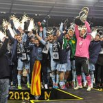 Congrats Sporting KC. RT @SportingKC: The 2013 #MLSCup Champions! http://t.co/8HjbWIckMK