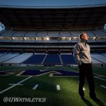 RT @UW_Football: Coach Petersen on his new home turf @HuskyStadium! #WOOF #CoachPeteUDUB http://t.co/sBjtEcvdWt