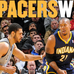 RT @Pacers: #PacersWin in San Antonio for the 1st time since 2002 and improve to 18-2. Final: Pacers 111, Spurs 100 http://t.co/h4G0zMBR35