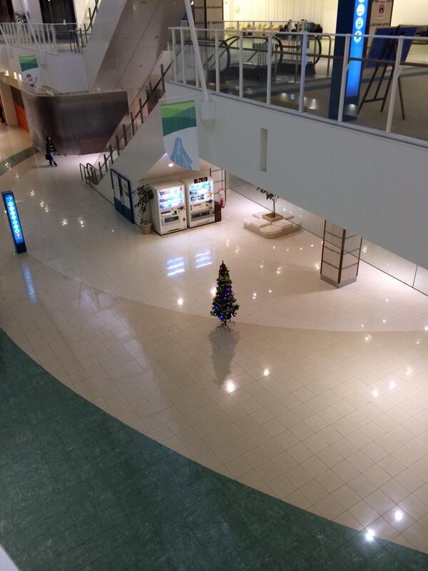 ピエリ守山、去年のクリスマスツリーがこれだったからな。 https://t.co/hyEnqNIwXP