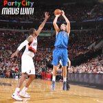#MavsWin! Mavs defeat the @Trailblazers 108-106! Dirk finishes with 28 pts and 6 reb in the win. #DALatPOR http://t.co/gWfqWqMsOH