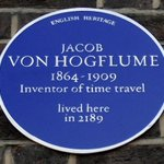 RT @AllanBoroughs: The best blue plaque in London, commemorating our greatest inventor http://t.co/0LLz3IpxeB