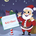 RT @OfficialSanta: ☆☆☆ ONLY 400 HOURS TO CHRISTMAS!!! ☆☆☆ #CountdownToChristmas 🎅🎁🎄⛄️ http://t.co/qrnoeQwwaE
