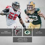 RT @Atlanta_Falcons: Good morning. Its gameday in Green Bay! #RiseUp #ATLvsGB http://t.co/pr6XAG74Xc
