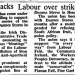 RT @IrelandUncut: Fine Gael, Fianna Fail AND Labour vilified Sinn Fein for supporting Dunnes Stores strikers http://t.co/WzLaEd4BpZ #vinb #madiba #mandela IRA