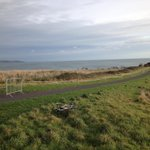Settings for a #cyclocross race dont get much better than this... #dublin @northdublincx rd1 at portmarnock http://t.co/E3rgdOXXBe
