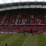 East Stand terrace filling up ahead of @Munsterrugby v USAP Perpignan in Heineken Cup at Thomond Park. Ko 12.45 #suaf http://t.co/eIIJmmfiqA
