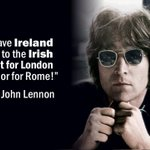 RT @IrishUnity: John Lennon, a great friend of Ireland, was murdered on this day 1980. Ar dheis Dé go raibh a anam. http://t.co/PTCmO7bxur