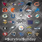 RT @nfl: 28 teams are still mathematically alive for a playoff spot. For now... #5HoursToSurvivalSunday http://t.co/Ece2RRRqGf