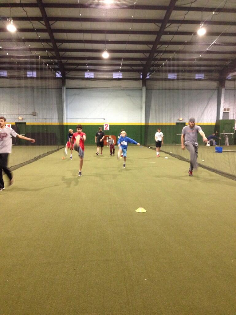 @wademiley36 getting his work in w/ Excel Sports at the @JASportsplex http://t.co/nmJX7LsPfC