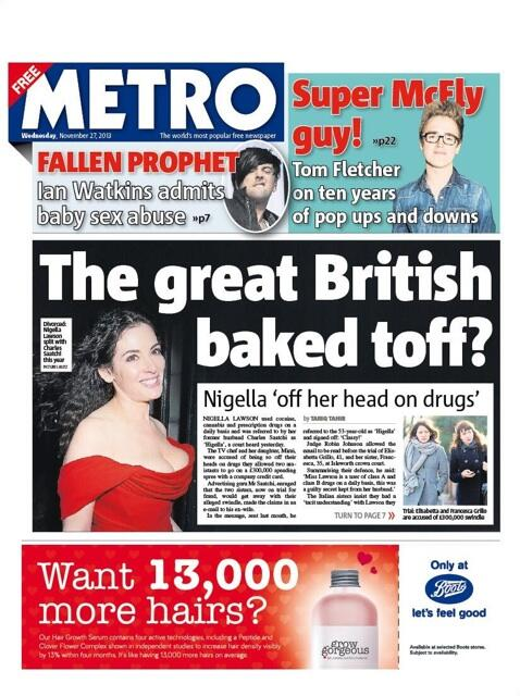 Great headline from @MetroUK this morning re: Nigella Lawson... http://t.co/xC03DZSyOV