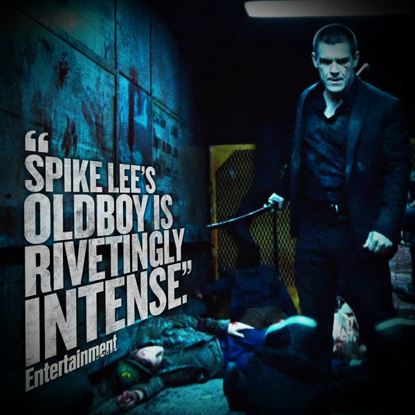 .@EW gives #Oldboy an A- grade. See for yourself in theaters tomorrow > http://t.co/98vbCYzw5L http://t.co/9YHYRngYRQ