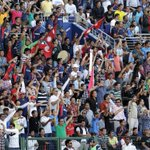 Nepal's 12th man at the World T20 qualifiers #CrowdPower