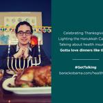 Make sure everyone who sits down with you for #Thanksgivukkah dinner is covered. #GetTalking