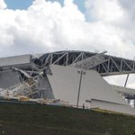 Video of scene at Brazil's opening World Cup venue - police now say 2 dead http://t.co/C1zD5OHa7x #Itaquerao