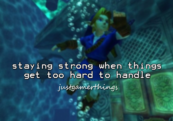 GameStop, Inc. (@GameStop): Staying strong when things get too hard to handle #JustGamerThings http://t.co/YR0GBSL5bT