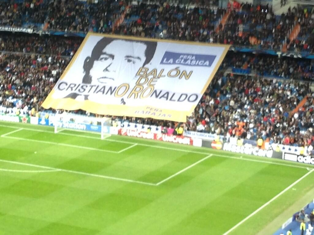 RT @Cristiano: Thanks to the fans for the great support. I wish I was there helping my team. http://t.co/DKjyYGzNIQ