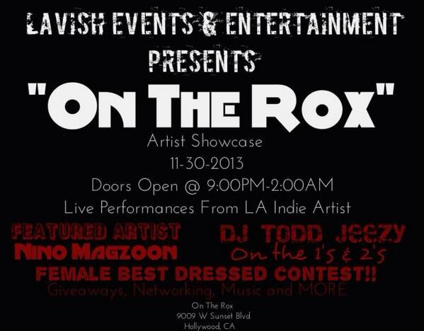 "@ayyoSoFLy @KeysDCC #dreamchasecollective performing for our ""ON THE ROX"" artist showcase NOVEMBER 30 http://t.co/Ab1ZsVVVxO"
