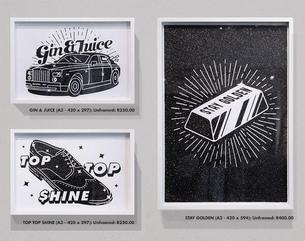 We still have a few black glitter screen prints for sale. Mail myself or @DanielTingChong  to order. Sell. Sell. Sell http://t.co/0WIt9562QO