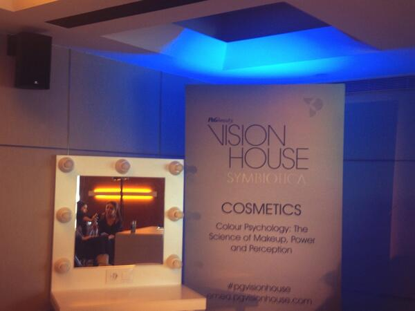 Time for the #makeup session at the @PGVisionHouse event in #Barcelona! http://t.co/d8Lx2vzmHU