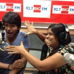 Kothi Panilu with RJ JO AMMA at Big FM Studios :) #VenkatadriExpress http://t.co/YkuU8H36br
