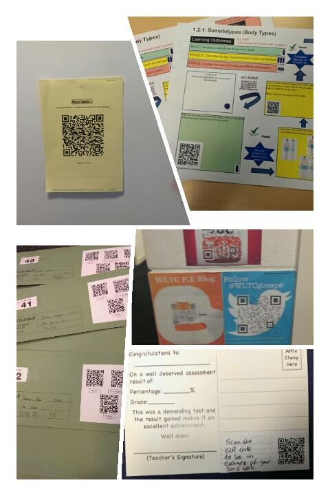 A collage of ways of how I have included QR codes in lessons and in teaching! http://t.co/VvQ8AT4c2A
