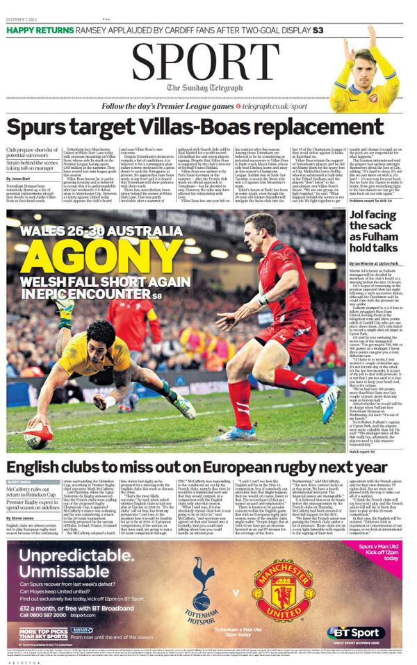 BaWdB0qCIAA6PvM Tottenham begin looking for an AVB replacement, Yakin & Capello in the running [Telegraph + Mail]