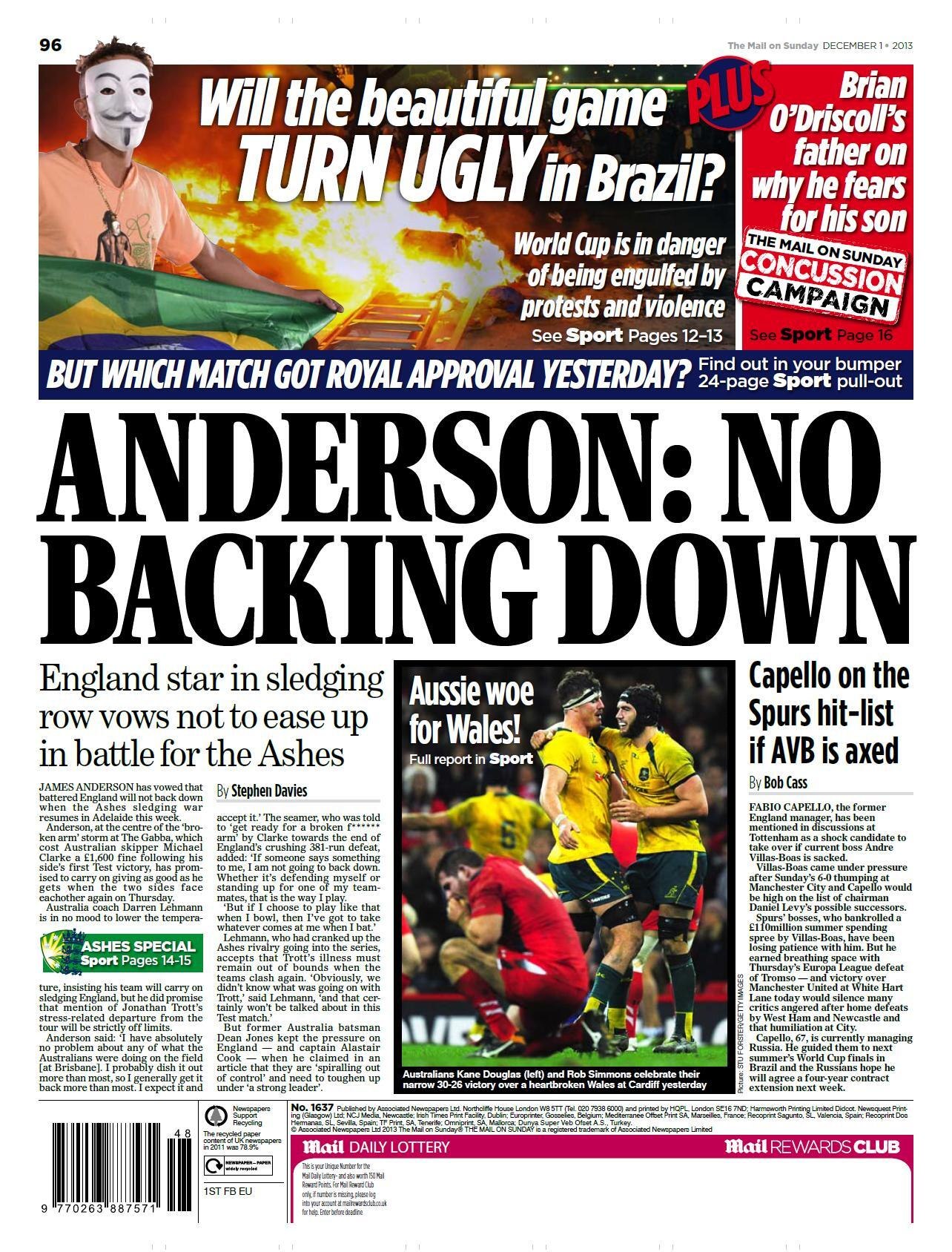 Tottenham begin looking for an AVB replacement, Yakin & Capello in the running [Telegraph + Mail]