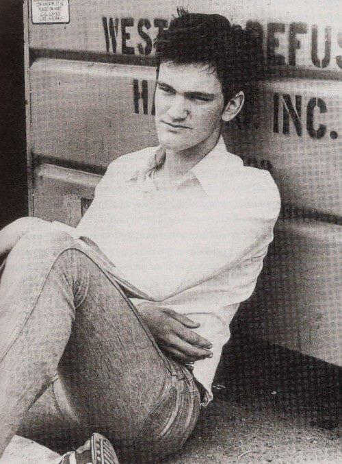 A young Quentin Tarantino. Which of his films do you love the most? http://t.co/V7uOiU29RN