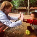 RT @brookeyoner: First day at the orphanage!!!