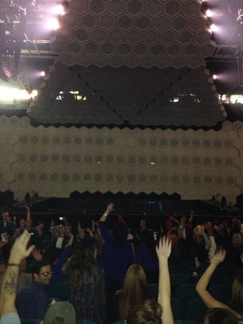 Yup! Had a concert today, now I'm at my idols concert!!! @jtimberlake http://t.co/EFyQBQU56V