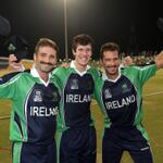 ICC President Alan Isaac congratulates @Irelandcricket for defending ICC WT20 Qualifier title: http://t.co/WmazMcBl8Q http://t.co/8XqnjENBZy