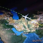 My friend Chandan on a @virginatlantic DEL-LHR flight sent me a sweet BBM msg using wifi flying over Turkmenistan