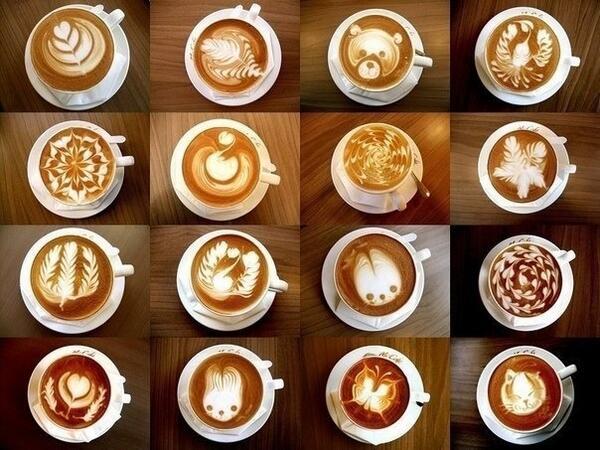 Как красиво украсить кофе. http://t.co/bCGnRRATvb