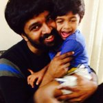 RT @nandinikarky: Haiku's latest punishment: Beard-poking! |