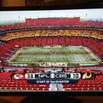 """@NOTSportsCenter: The #Redskins have more points than they do fans in the stands (pic via @dcsportsbog) http://t.co/PSTbfh01Ft"" @YoungZlaw"