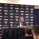 "RT @nyknicks: Coach Woodson: ""I wish I could explain it. Didnt see that coming."" http://t.co/sOcAT5OzwA"
