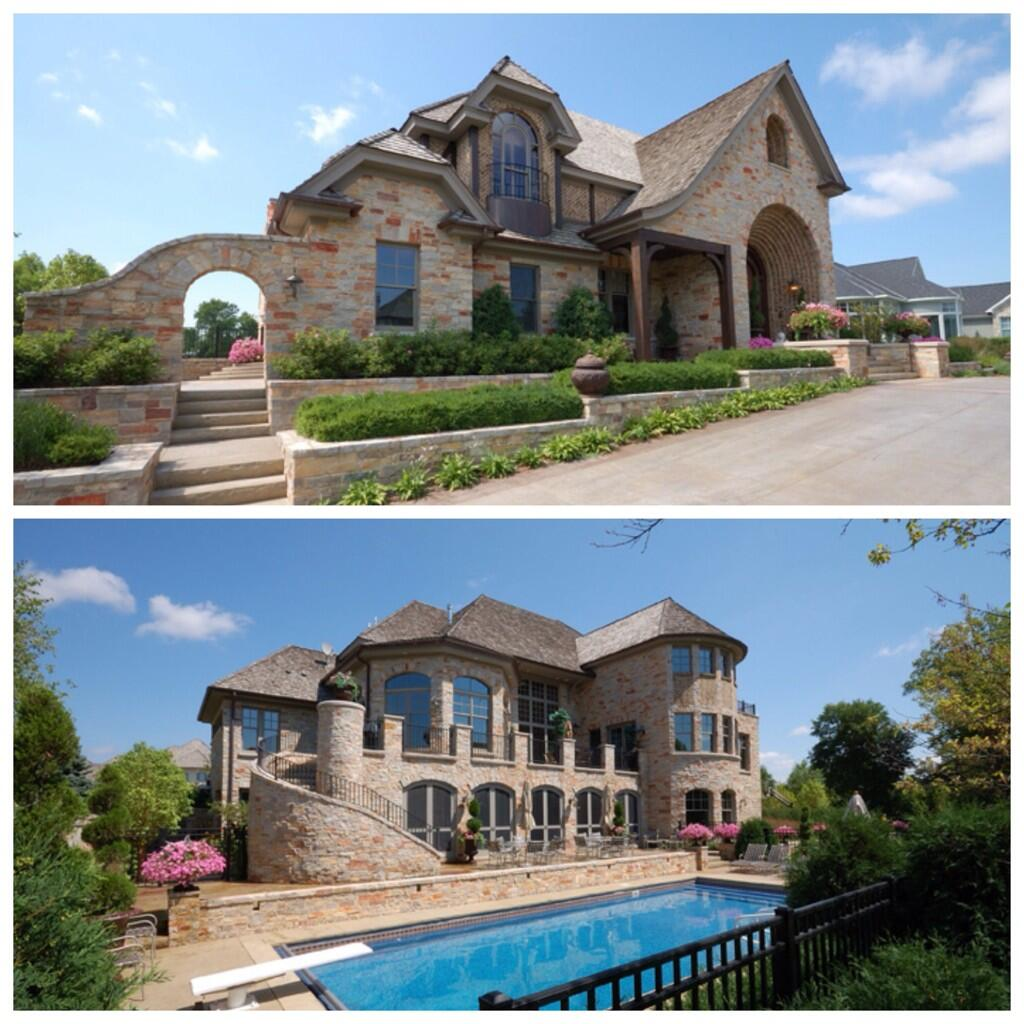 Johan Santana's old house in Eden Prairie's Bearpath neighborhood http