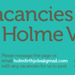 For Jobs in the Holme Valley please check us out, free listings too, email holmfirthjobs@gmail.com #holmfirthhour http://t.co/8To2DNj1Tt