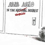 RT @StanSteam2: In whose interest...? @moir_alan cartoon #auspol ASIS ASIO #TimorLeste #Downer #Woodside #lnpfail http://t.co/LGWtLvfrHD