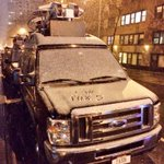 Left my crew a little note on the news van - written in SNOW!!! #NYC #FOXnews #snow http://t.co/nVZpNZWR0K