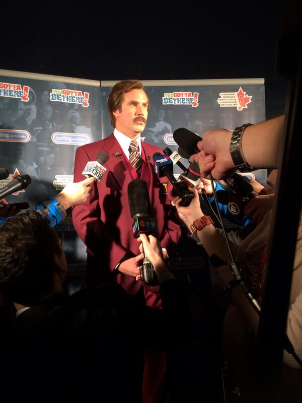 """Curling is the future.""- @RonBurgundy http://t.co/4kucjeIoV7"