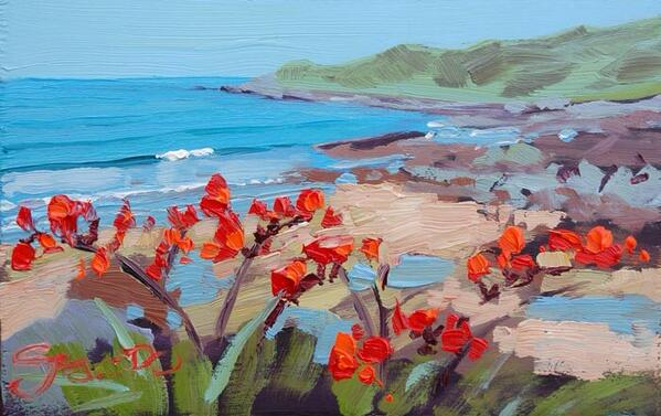 Just one of the many deals on my Fine art blog today! #cybermonday #painting #stevepp #woolacombe #art #Christmas http://t.co/uGNkkJExfk