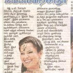 #IVM article in Malaimalar ... nice one. Thanks.