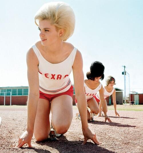 UT women's track practice, March 1964. http://t.co/7uFNyUJLWM