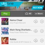 RT @shellyrishi: @shreyaghoshal And on Saavn #NainaChaar is among the weekly Top 15 songs from SO many days ! Yayyyy http://t.co/w5SfEngibk