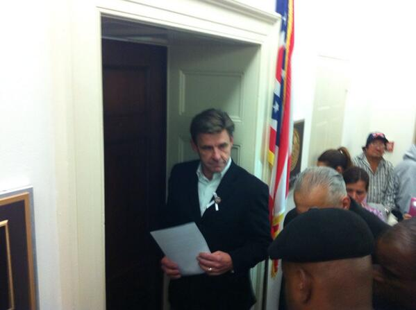 Door for @SpeakerBoehner is closed. Retweet this to help touch the Speaker's heart & open the door #Fast4Families http://t.co/fn8qj9dEVR