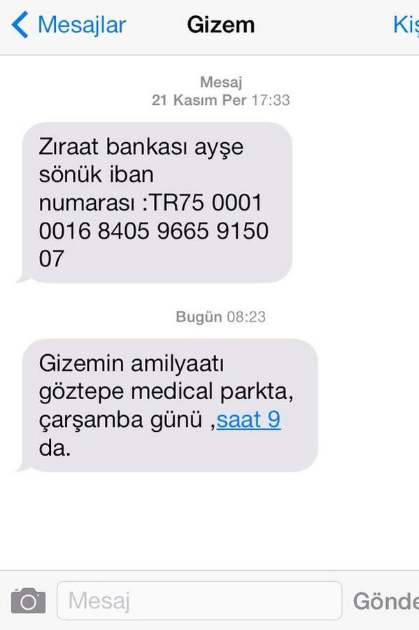 Ebru Karanfilci (@EbruKaranfilci): 16 yaşındaki kemik kanseri Gizem'in ameliyatı için yardım etmek isterseniz .Lütfen ! http://t.co/G9VqxIHku3
